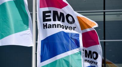 Fahnen der EMO Hannover