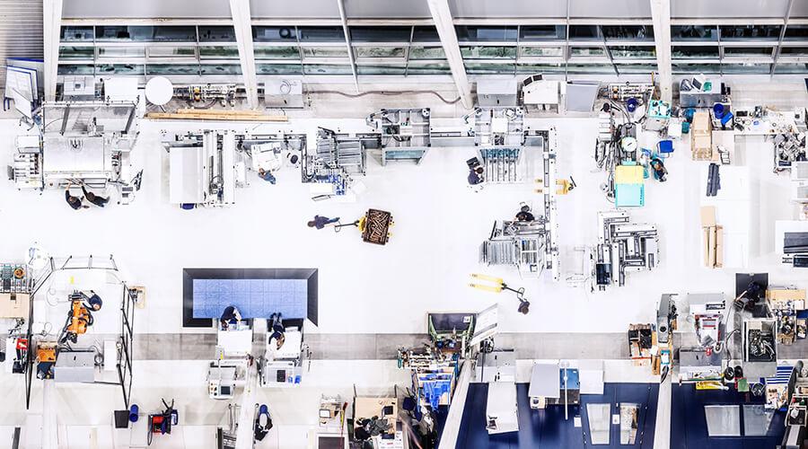 Ein Betriebssystem für die Produktion ermöglicht die Verschmelzung von Informationstechnik (IT) und operativen Technologien (OT). | Quelle: IFF Stuttgart, Rainer Bez