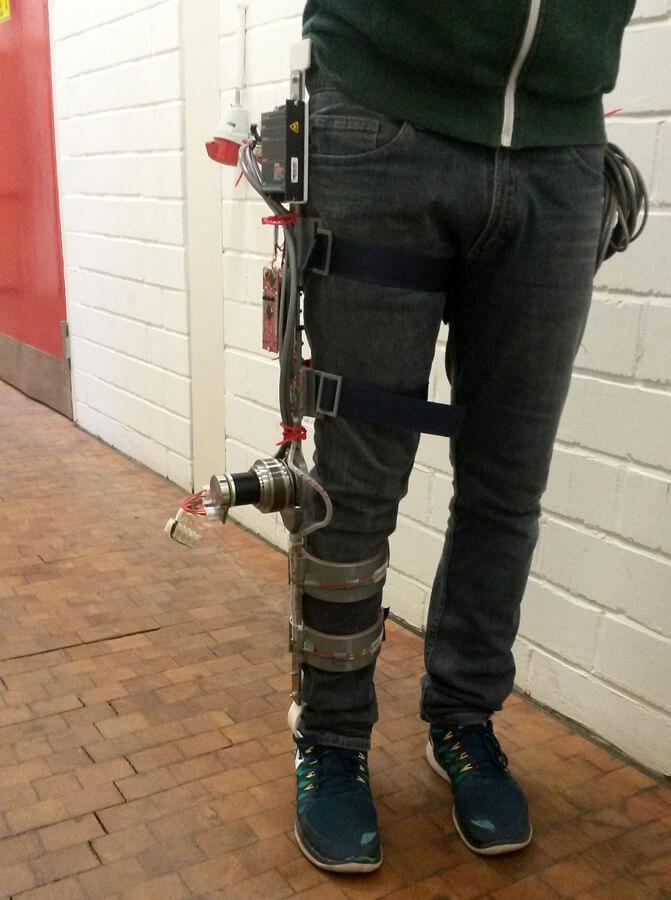 Prototyp der Aufstehhilfe - Quelle: LaFT