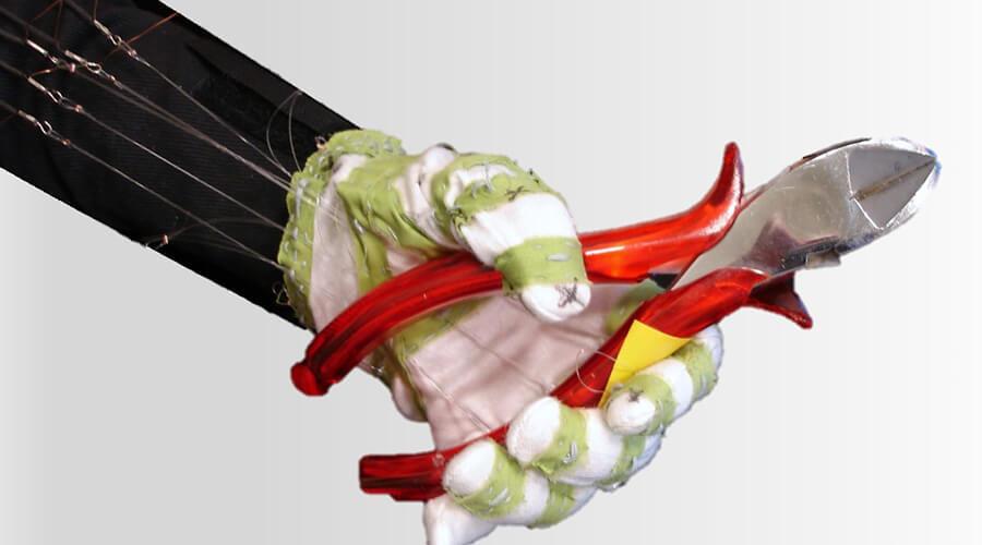 Muscle-Glove zur hochgenauen Greifunterstützung - Quelle: LaFT
