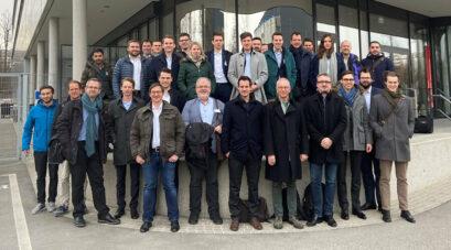 Projekt-Kickoff am 12.02.2020 bei Porsche in Zuffenhausen, Stuttgart. | Quelle: RWTH Aachen
