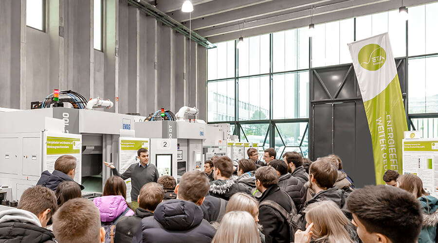 """Praxisübungen der Vorlesung """"Energieeffizienz und Energieflexibilität in der Produktion"""""""