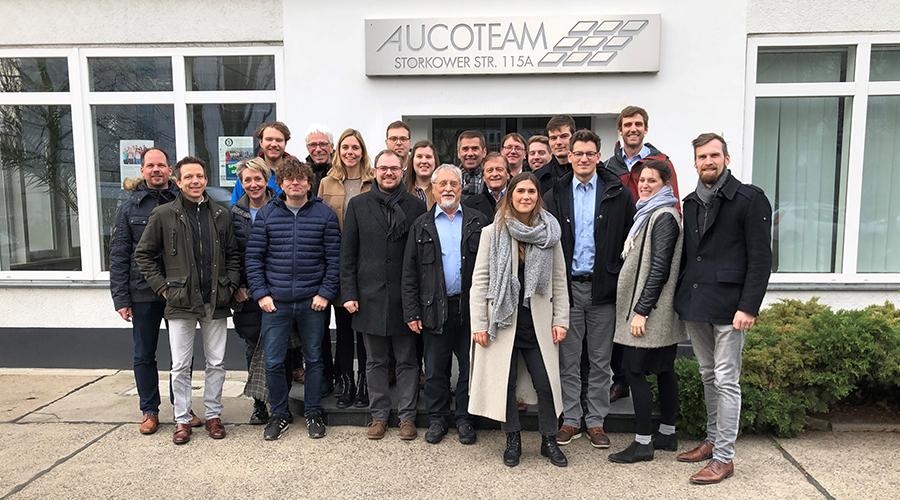 Projektmitglieder beim ersten Verbundtreffen im Januar 2020 | Quelle: Magnus Kandler, wbk