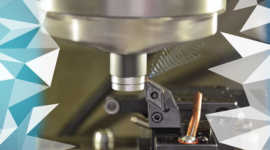 Konventionelle Zerspanung als Ausgangspunkt für die Erforschung neuer Ansätze zur Entwicklung intelligenter Prozesse   Bildquelle: wbk Institut für Produktionstechnik